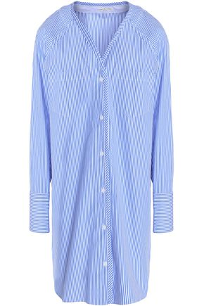 RAG & BONE Shults striped cotton-poplin shirt dress