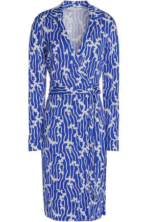 DIANE VON FURSTENBERG Jeanne printed silk-jersey wrap dress