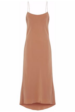 TIBI Silk-satin slip dress