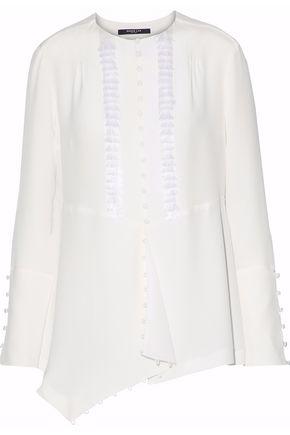 DEREK LAM Tasseled silk blouse
