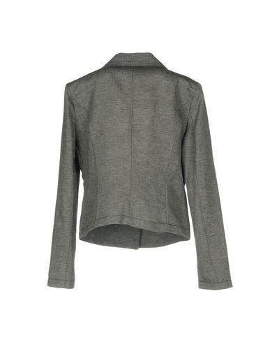 Фото 2 - Женский пиджак KAOS JEANS серого цвета