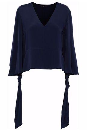 DEREK LAM Silk-chiffon blouse