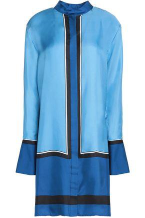 DIANE VON FURSTENBERG Printed silk-twill shirt dress