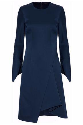 DEREK LAM Wrap-effect duchesse-satin dress