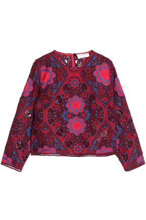 SANDRO 3 Quarter Sleeved