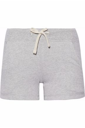SLEEPY JONES Cotton-fleece shorts