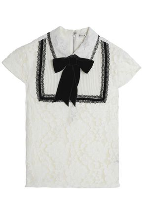 ALICE + OLIVIA Short Sleeved