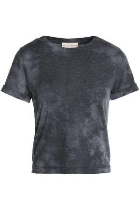 ALICE + OLIVIA Tie-dye jersey T-shirt