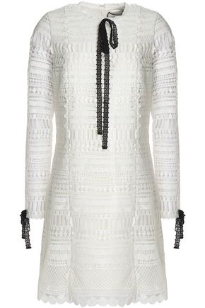 ALEXIS Macramé dress