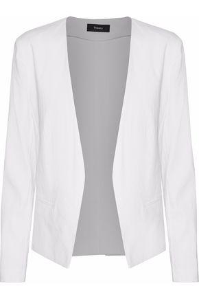 THEORY Linen-blend blazer