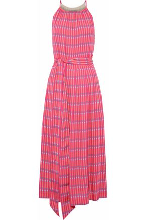 VANESSA SEWARD Pleated printed voile dress