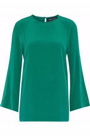 VANESSA SEWARD Silk-crepe blouse