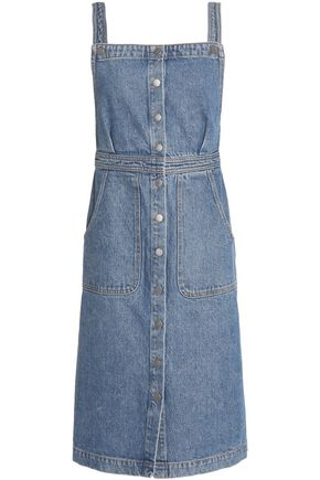 M.I.H JEANS Buttoned denim dress