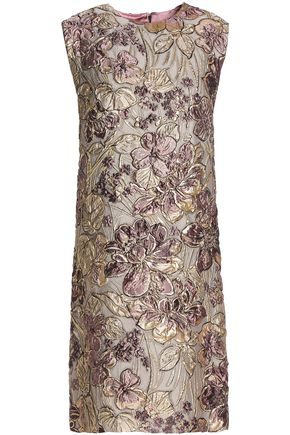 DOLCE & GABBANA Brocade mini dress