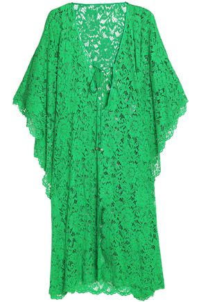 DOLCE & GABBANA Cotton-blend lace kaftan
