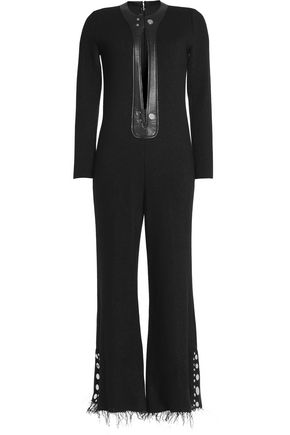 CALVIN KLEIN COLLECTION Wool-blend jumpsuit bc30bc343b940