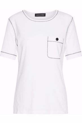 VANESSA SEWARD Embroidered cotton T-shirt