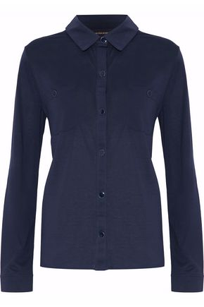 VANESSA SEWARD Cotton-jersey shirt