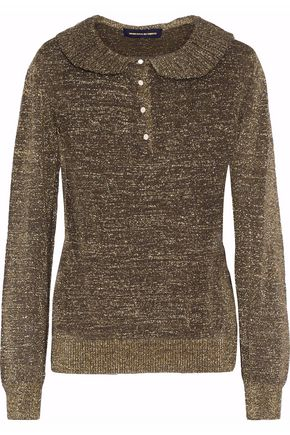 VANESSA SEWARD Metallic knitted sweater