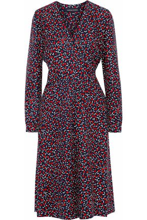 VANESSA SEWARD Printed silk crepe de chine dress