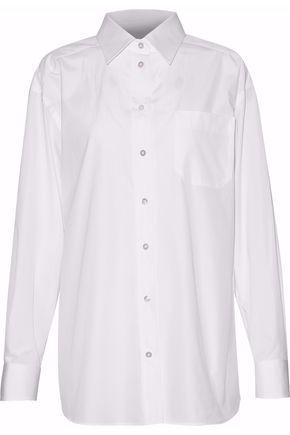 MAISON MARGIELA Cotton-poplin shirt