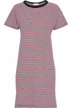 RAG & BONE/JEAN Striped cotton-jersey mini dress