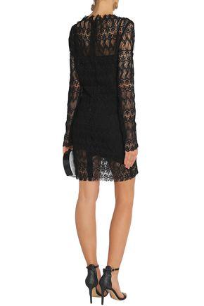 ... NICHOLAS Macramé lace mini dress
