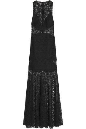 NICHOLAS Guipure lace gown