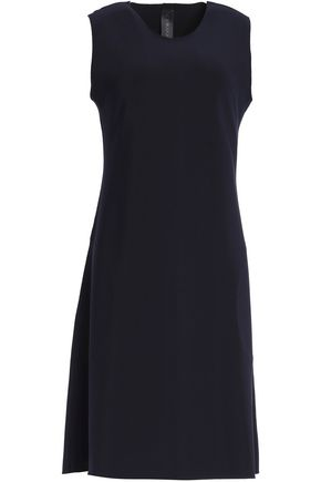 NORMA KAMALI Fluted stretch-jersey dress