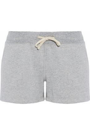 SLEEPY JONES Cotton-fleece pajama shorts
