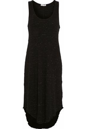 RAG & BONE/JEAN Marled ribbed-knit cotton-blend midi dress