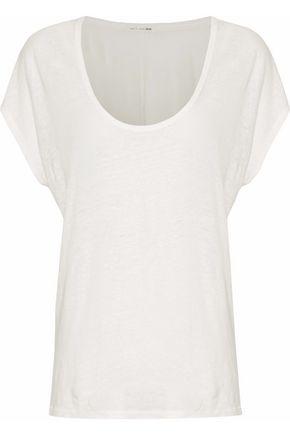 RAG & BONE Slub linen T-shirt