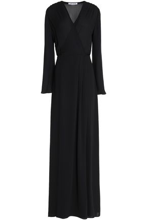ELIZABETH AND JAMES Jolene crepe wrap gown