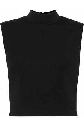 McQ Alexander McQueen Cropped cady top