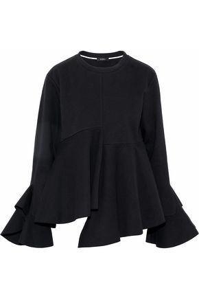 GOEN.J Asymmetric cotton-cady top