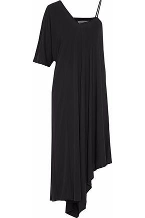 MAISON MARGIELA Asymmetric crepe de chine midi dress