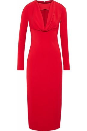 CUSHNIE ET OCHS Cutout jersey midi dress