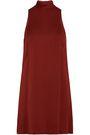 ROSETTA GETTY Hammered-satin mini dress