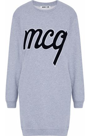 McQ Alexander McQueen Printed cotton-jersey top