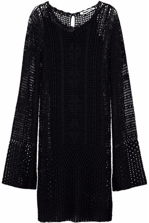 McQ Alexander McQueen Crochet-knit dress