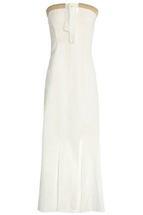 VIX PAULAHERMANNY Linen and cotton-blend maxi dress