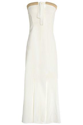 VIX PAULAHERMANNY Linen and cotton-blend maxi dress