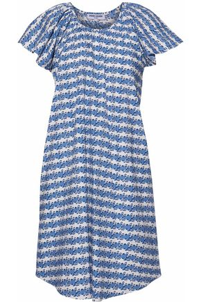 OPENING CEREMONY Printed cotton-poplin dress