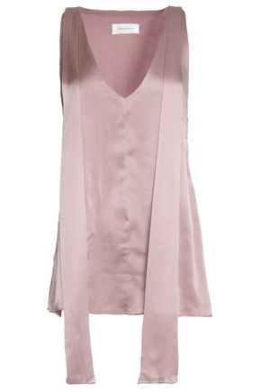 ZIMMERMANN Silk-satin top