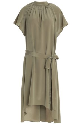 ZIMMERMANN Belted silk dress