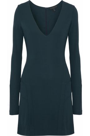 BELSTAFF Fluted stretch-crepe mini dress