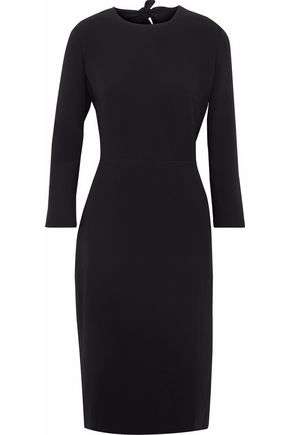 MAX MARA Open-back crepe dress