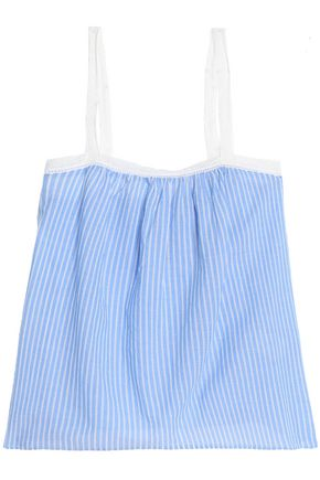 JOIE Striped cotton top