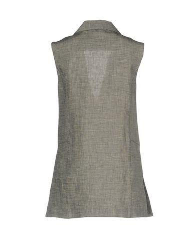 Фото 2 - Женский пиджак  цвет стальной серый