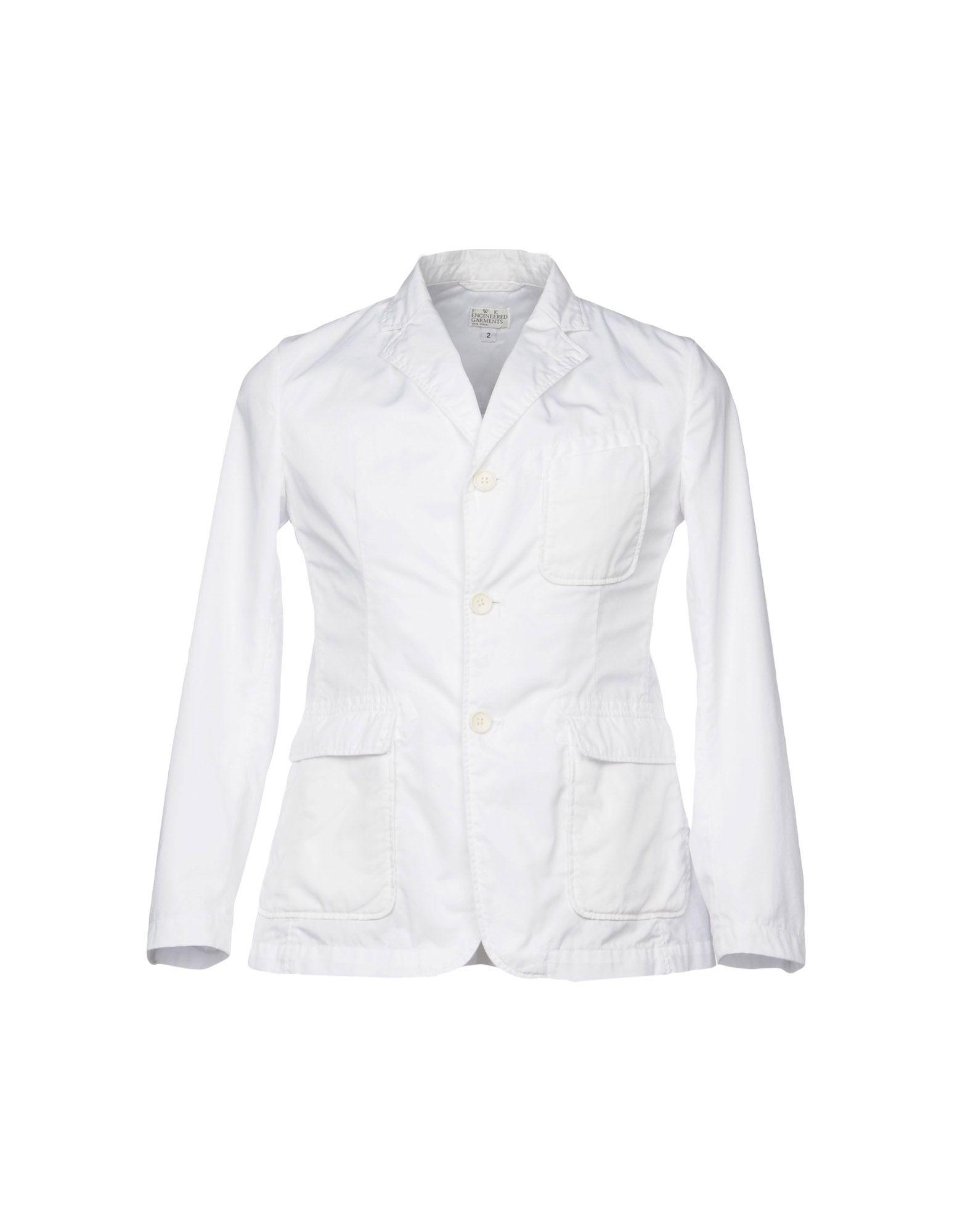 メンズ ENGINEERED GARMENTS テーラードジャケット ホワイト